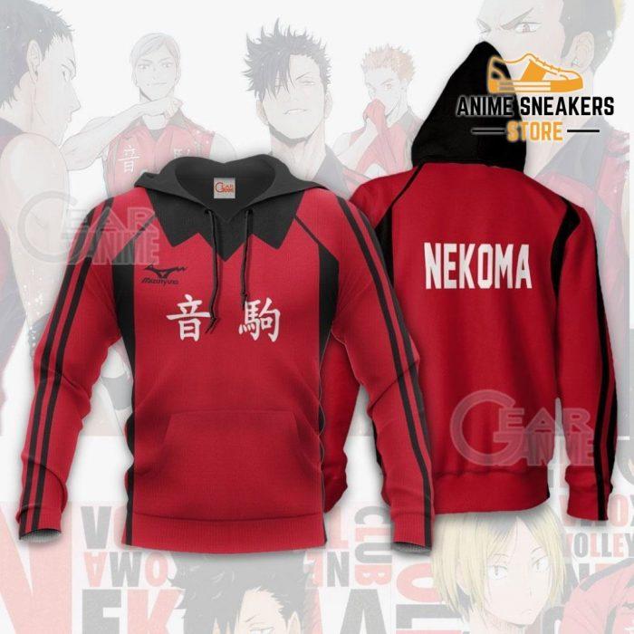 Haikyuu Nekoma High Shirt Costume Anime Hoodie Sweater / S All Over Printed Shirts