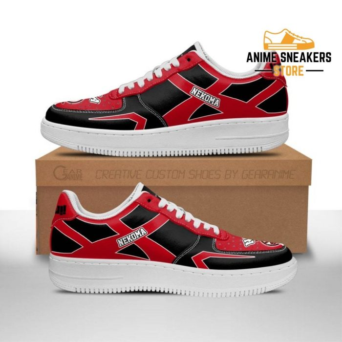 Haikyuu Nekoma High Sneakers Uniform Anime Shoes Men / Us6.5 Air Force