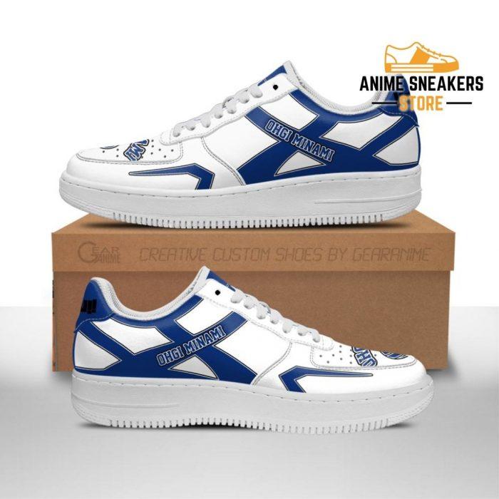 Haikyuu Ohgiminami High Sneakers Uniform Anime Shoes Men / Us6.5 Air Force
