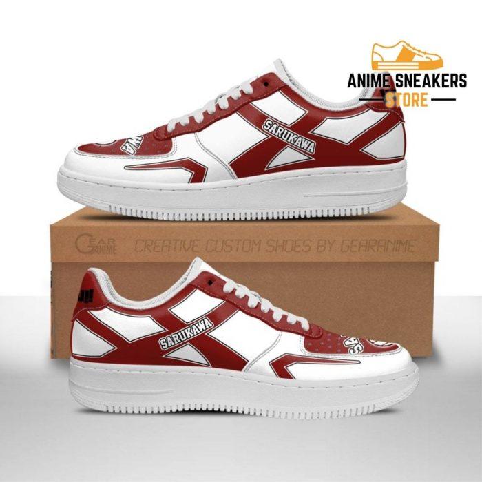 Haikyuu Sarukawa Tech High Sneakers Uniform Anime Shoes Men / Us6.5 Air Force