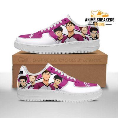 Haikyuu Shiratorizawa Academy Sneakers Team Anime Shoes Men / Us6.5 Air Force