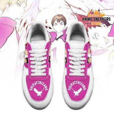 Haikyuu Shiratorizawa Academy Sneakers Team Anime Shoes Air Force