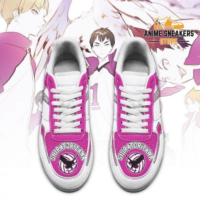 Haikyuu Shiratorizawa Academy Sneakers Uniform Anime Shoes Air Force