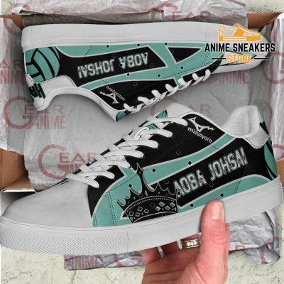 Aoba Johsai High Skate Shoes Haikyuu Anime Custom Pn10