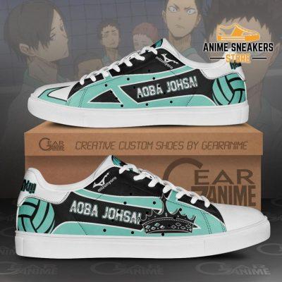 Aoba Johsai High Skate Shoes Haikyuu Anime Custom Pn10 Men / Us6