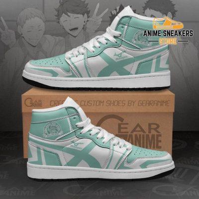 Aoba Johsai High Sneakers Haikyuu Anime Shoes Mn10 Men / Us6.5 Jd
