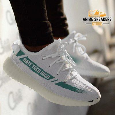 Date Tech High Shoes Haikyuu Custom Anime Sneakers Tt11 Yeezy