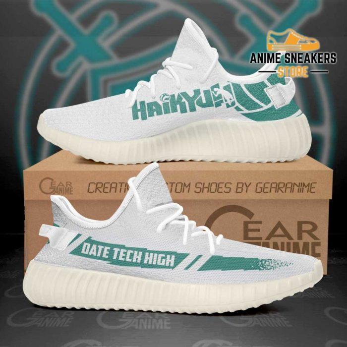 Date Tech High Shoes Haikyuu Custom Anime Sneakers Tt11 Men / Us6 Yeezy