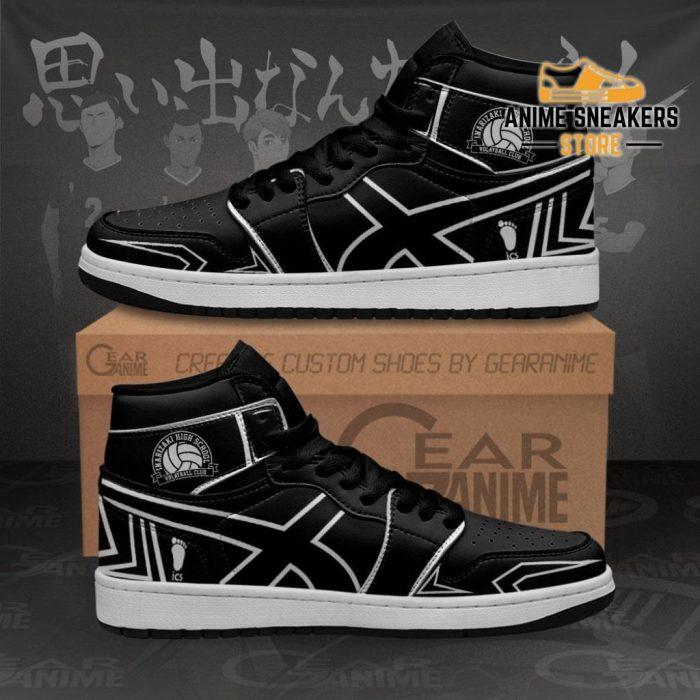 Inarizaki High Sneakers Haikyuu Custom Anime Shoes Mn10 Men / Us6.5 Jd