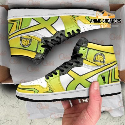 Itachiyama Academy Sneakers Haikyuu Custom Anime Shoes Mn10 Jd