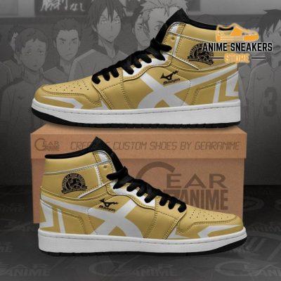 Johzenji High Shoes Haikyuu Custom Anime Mn10 Men / Us6.5 Jd Sneakers
