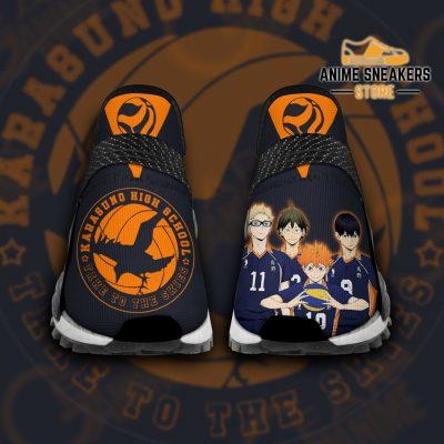 Karasuno High Shoes Haikyuu Custom Anime Pt11 Men / Us6 Nmd