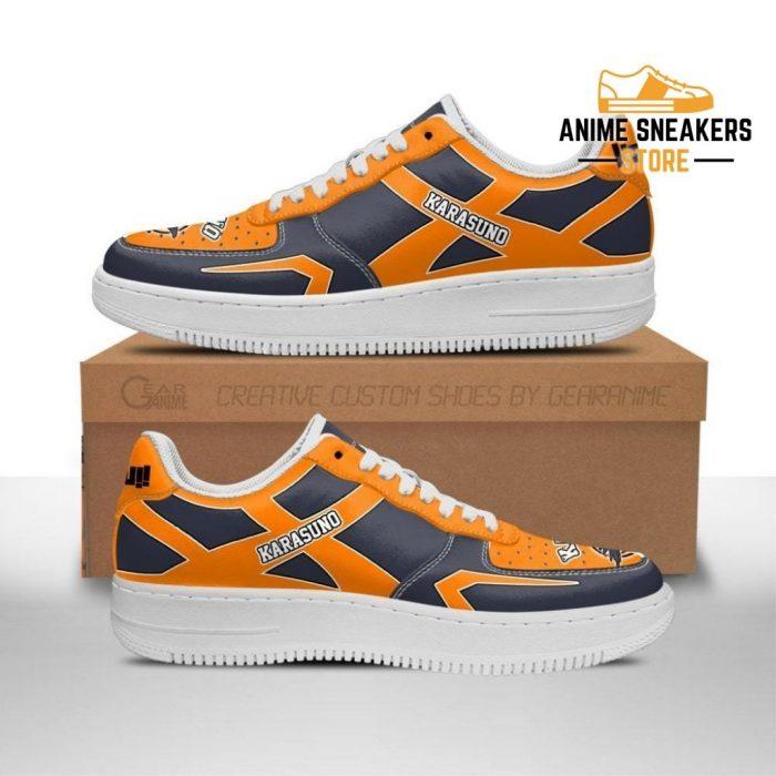 Haikyuu Karasuno High Sneakers Uniform Anime Shoes Men / Us6.5 Air Force