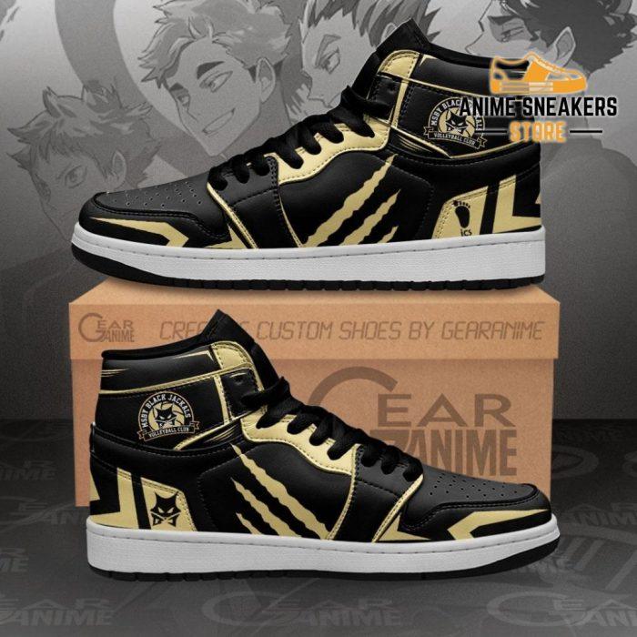 Msby Black Jackals Shoes Haikyuu Custom Anime Mn10 Men / Us6.5 Jd Sneakers