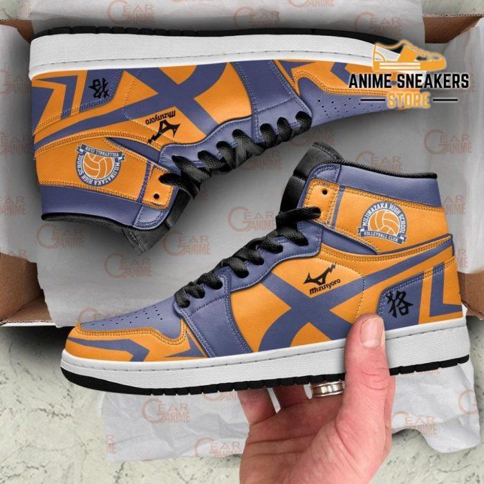 Mujinazaka High Sneakers Haikyuu Custom Anime Shoes Mn10 Jd
