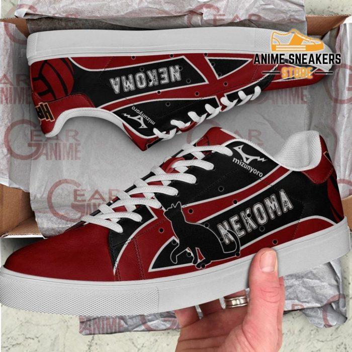 Nekoma High Skate Shoes Haikyuu Anime Custom Pn10