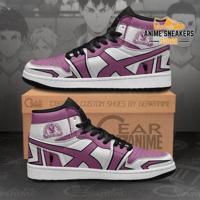 Shiratorizawa Academy Shoes Haikyuu Custom Anime Mn10 Men / Us6.5 Jd Sneakers