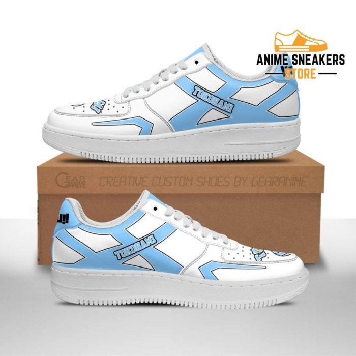 Haikyuu Tokonami High Sneakers Uniform Anime Shoes Men / Us6.5 Air Force