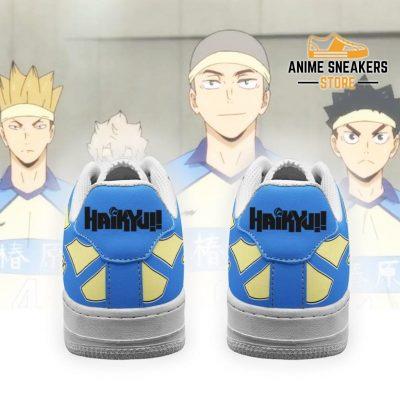 Haikyuu Tsubakihara Academy Sneakers Uniform Anime Shoes Air Force