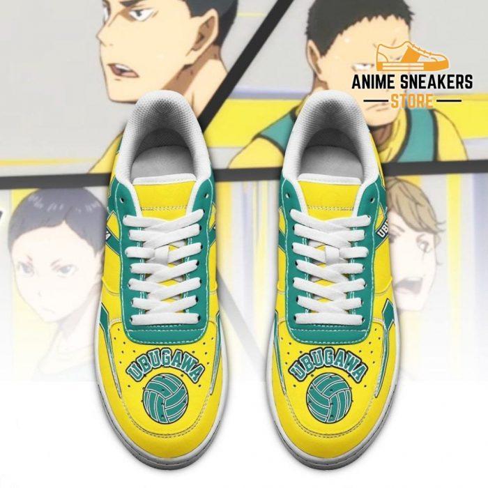 Haikyuu Ubugawa High Sneakers Uniform Anime Shoes Air Force
