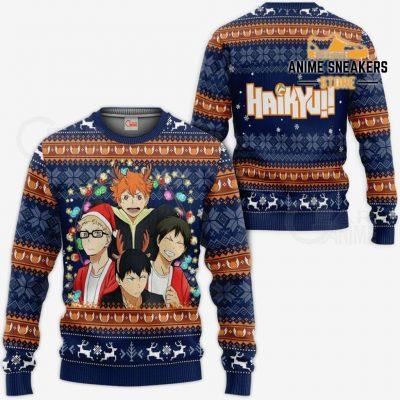 Haikyuu Ugly Christmas Sweater Anime Xmas Gift Va10 / S All Over Printed Shirts