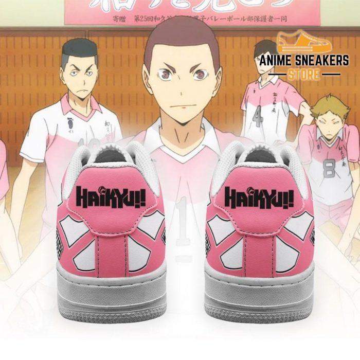 Haikyuu Wakutani South High Sneakers Anime Shoes Air Force