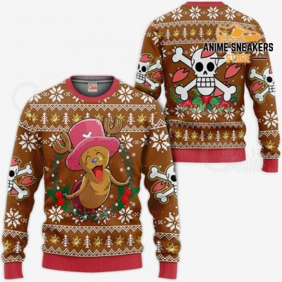 Happy Chopper Ugly Christmas Sweater One Piece Anime Xmas Gift Va10 / S All Over Printed Shirts