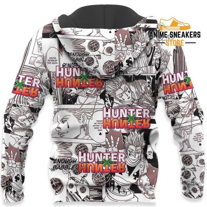 Hisoka Hunter X Shirt Sweater Hxh Anime Hoodie Manga Jacket All Over Printed Shirts