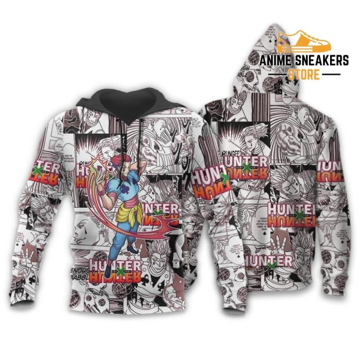 Hisoka Hunter X Shirt Sweater Hxh Anime Hoodie Manga Jacket / S All Over Printed Shirts