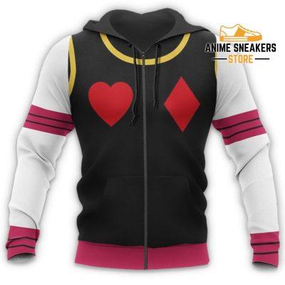 Hisoka Hunter X Uniform Shirt Hxh Anime Hoodie Jacket All Over Printed Shirts