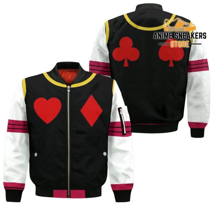 Hisoka Hunter X Uniform Shirt Hxh Anime Hoodie Jacket Bomber / S All Over Printed Shirts