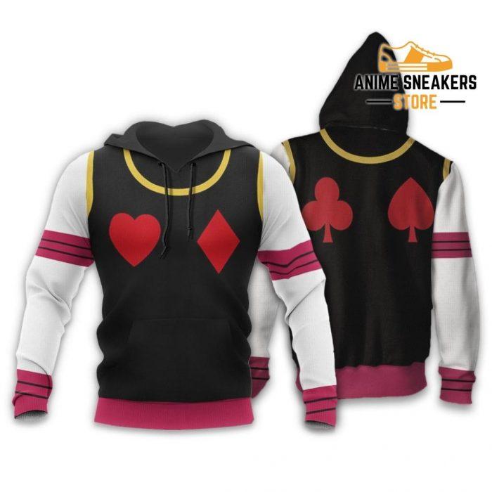Hisoka Hunter X Uniform Shirt Hxh Anime Hoodie Jacket / S All Over Printed Shirts