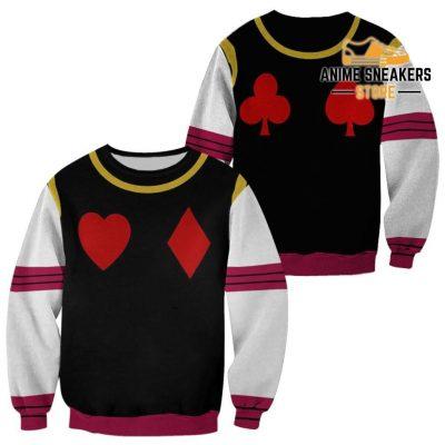 Hisoka Hunter X Uniform Shirt Hxh Anime Hoodie Jacket Sweater / S All Over Printed Shirts