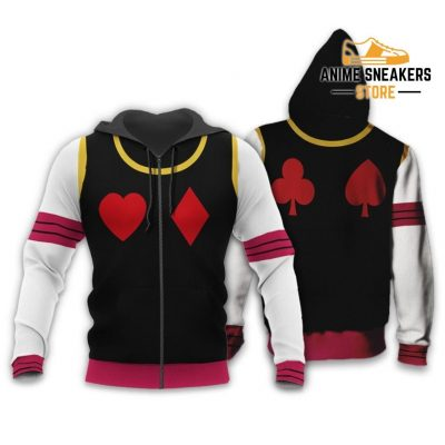 Hisoka Hunter X Uniform Shirt Hxh Anime Hoodie Jacket Zip / S All Over Printed Shirts