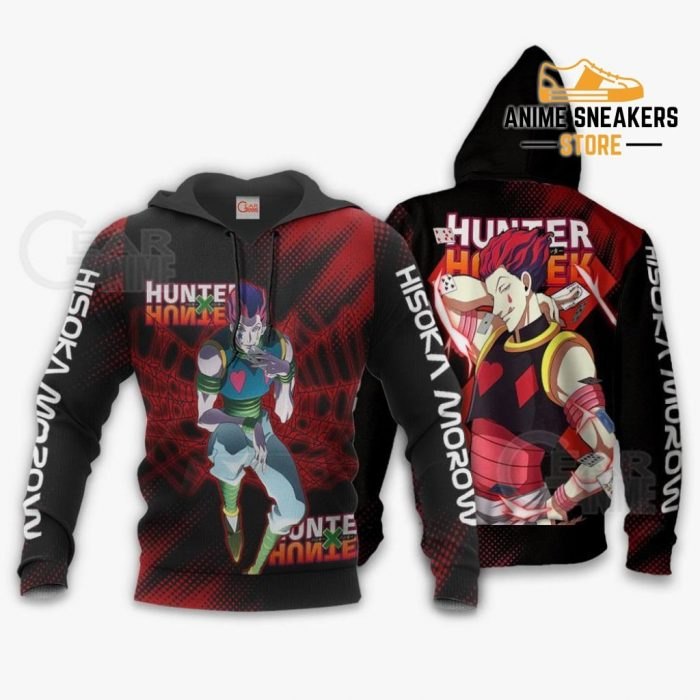 Hisoka Shirt Hunter X Custom Anime Hoodie Jacket / S All Over Printed Shirts