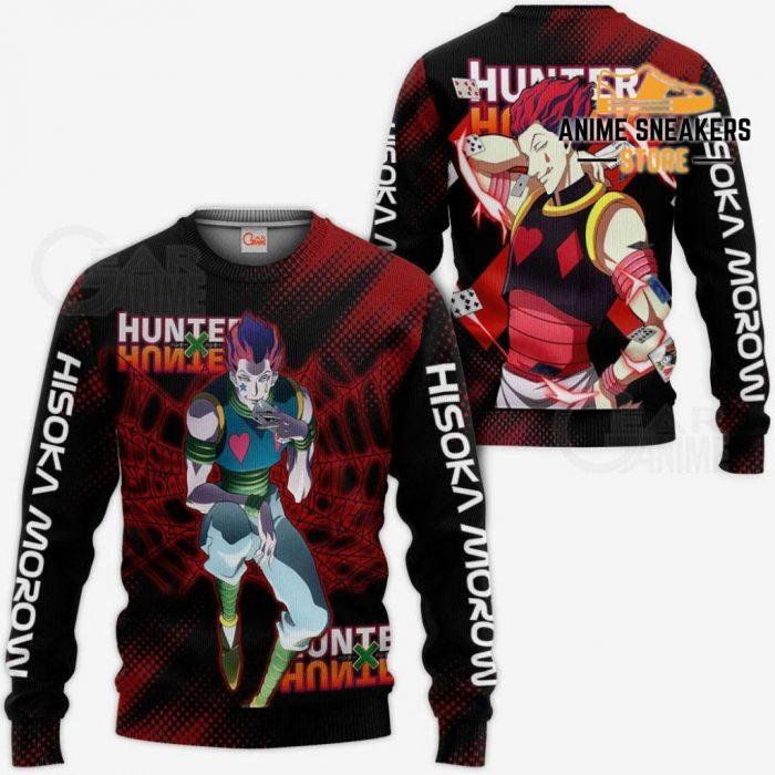 Hisoka Shirt Hunter X Custom Anime Hoodie Jacket Sweater / S All Over Printed Shirts