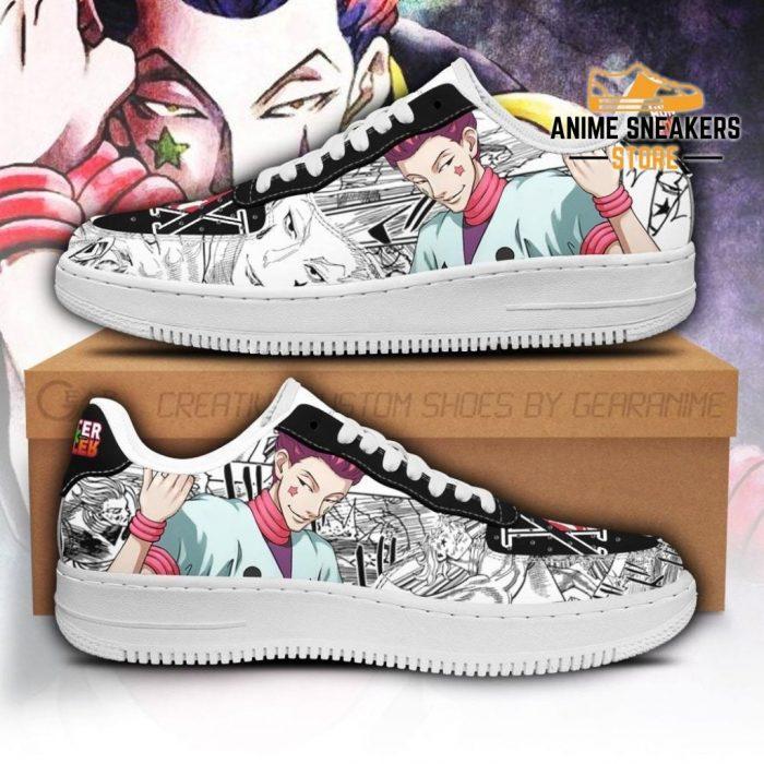 Hisoka Sneakers Custom Hunter X Anime Shoes Fan Pt05 Men / Us6.5 Air Force