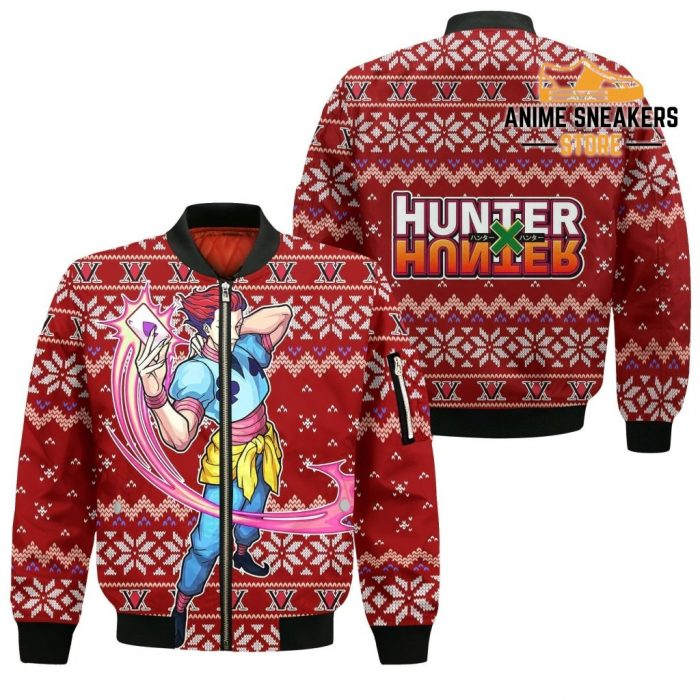Hisoka Ugly Christmas Sweater Hunter X Xmas Gift Bomber Jacket / S All Over Printed Shirts