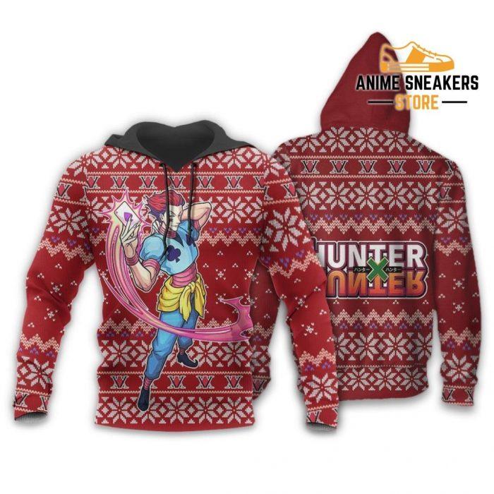 Hisoka Ugly Christmas Sweater Hunter X Xmas Gift Hoodie / S All Over Printed Shirts