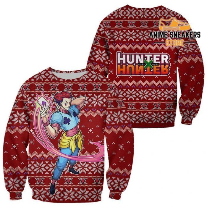 Hisoka Ugly Christmas Sweater Hunter X Xmas Gift / S All Over Printed Shirts