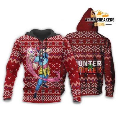 Hisoka Ugly Christmas Sweater Hunter X Xmas Gift Zip Hoodie / S All Over Printed Shirts