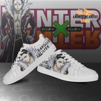 Chrollo Lucilfer Skate Shoes Hunter X Anime Pn11