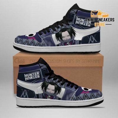 Feitan Hunter X Sneakers Cool Face Hxh Anime Shoes Men / Us6.5 Jd