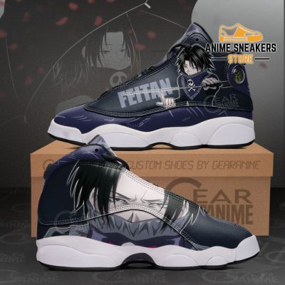 Feitan Jd13 Sneakers Hunter X Custom Anime Shoes Men / Us6