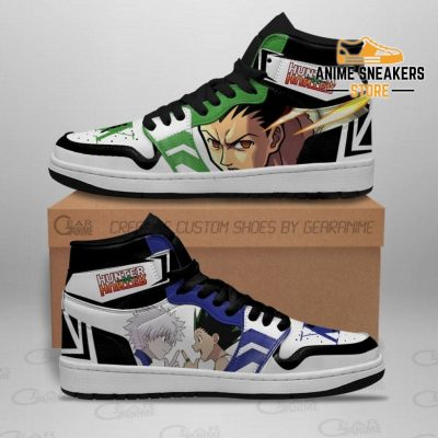 Gon And Killua Sneakers Hunter X Anime Custom Shoes Jd