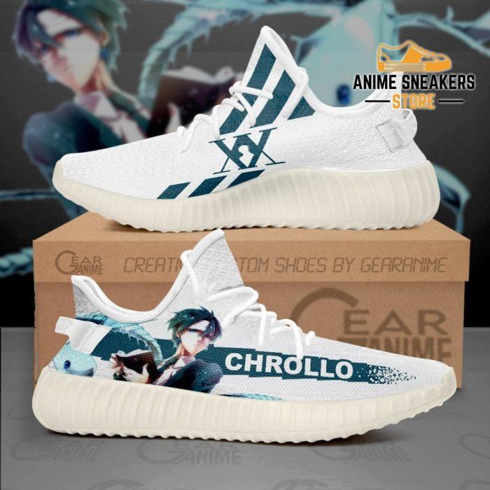 Chrollo Lucilfer Shoes Hunter X Anime Sneakers Tt10 Men / Us6 Yeezy