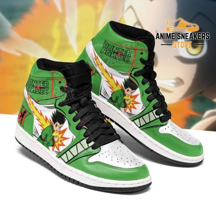 Gon Freecss Hunter X Sneakers Hxh Anime Shoes Jd