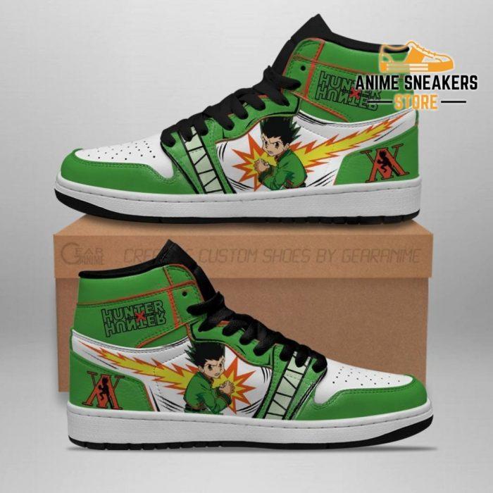 Gon Freecss Hunter X Sneakers Hxh Anime Shoes Men / Us6.5 Jd