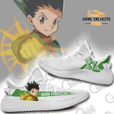 Gon Freecss Shoes Hunter X Anime Sneakers Tt10 Yeezy