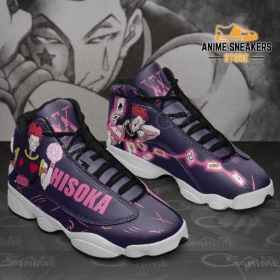 Hisoka Sneakers Hunter X Custom Anime Shoes Jd13